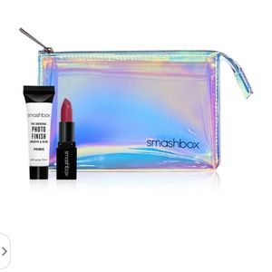 Smashbox - Makeup Bag, Primer, Lipstick